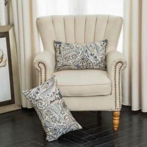 Paisley Rectangular Multicolor Cushion Covers Set